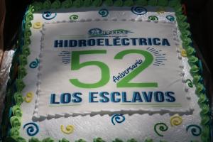 Aniversario Hidroeléctrica Los Esclavos INDE